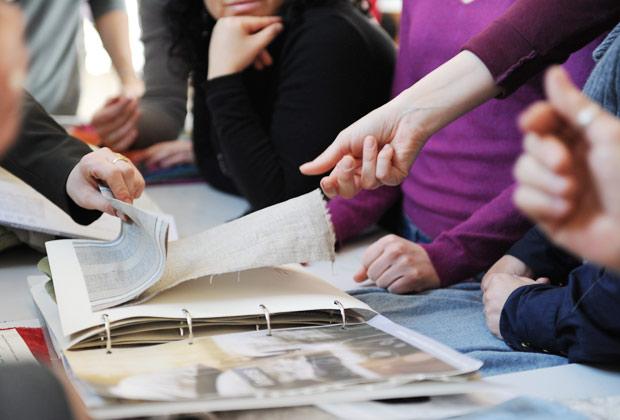 Durante il workshop Natural Home le partecipanti hanno respirato l'atmosfera creativa di NABA