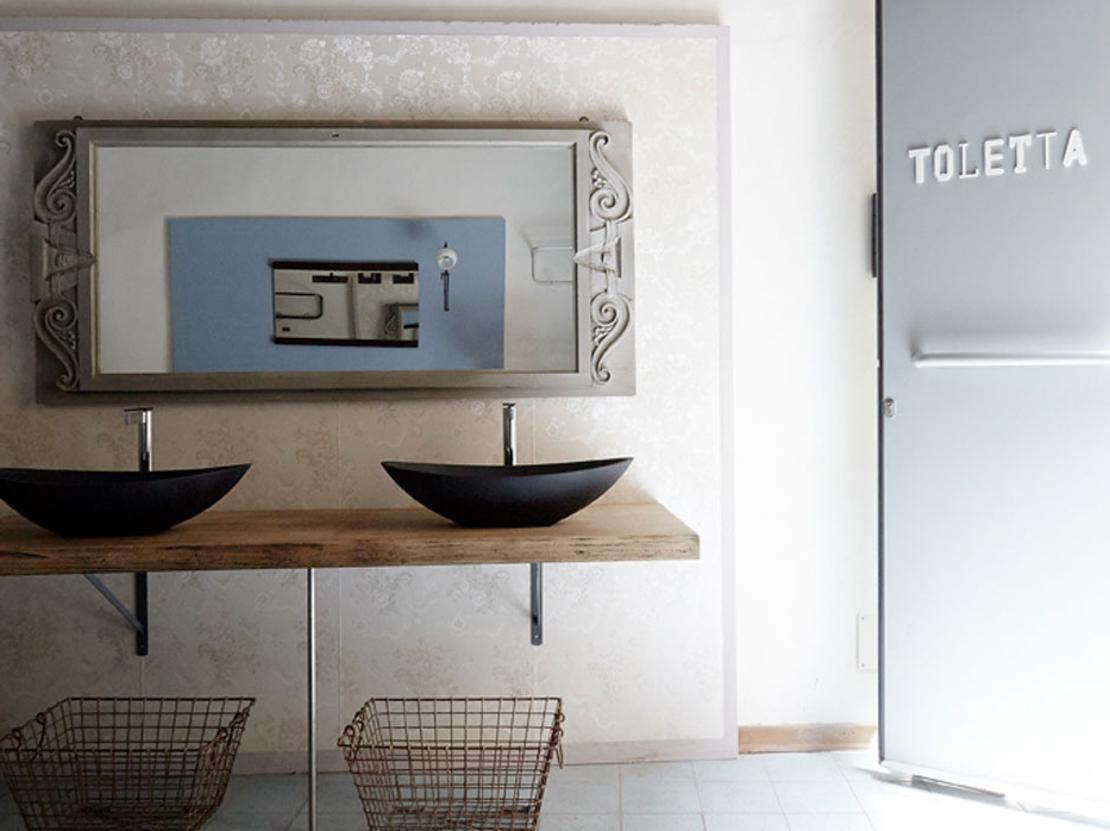 Toletta bagno retrospettivo for Martinelli arredo bagno