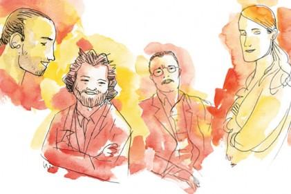 Nelle illustrazioni di Luis Mendo