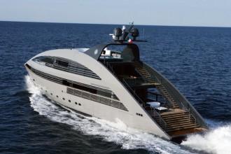 Ocean Emerald è il primo della serie di superyacht identici