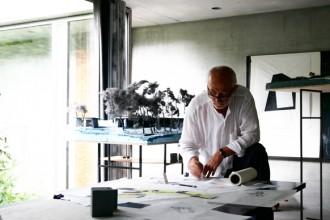 Una panoramica della mostra Architectural Models di Peter Zumthor © Atelier Peter Zumthor & Partner