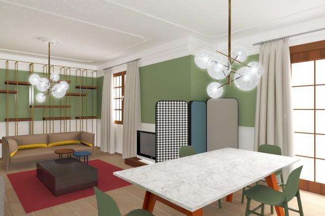 Decorare un soggiorno in stile new classic livingcorriere for Arredare casa in stile classico moderno