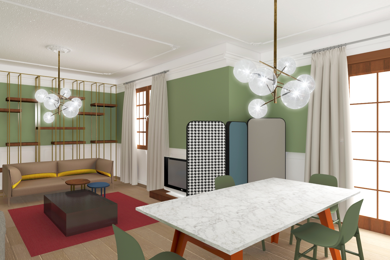 Decorare un soggiorno in stile new classic   Living Corriere