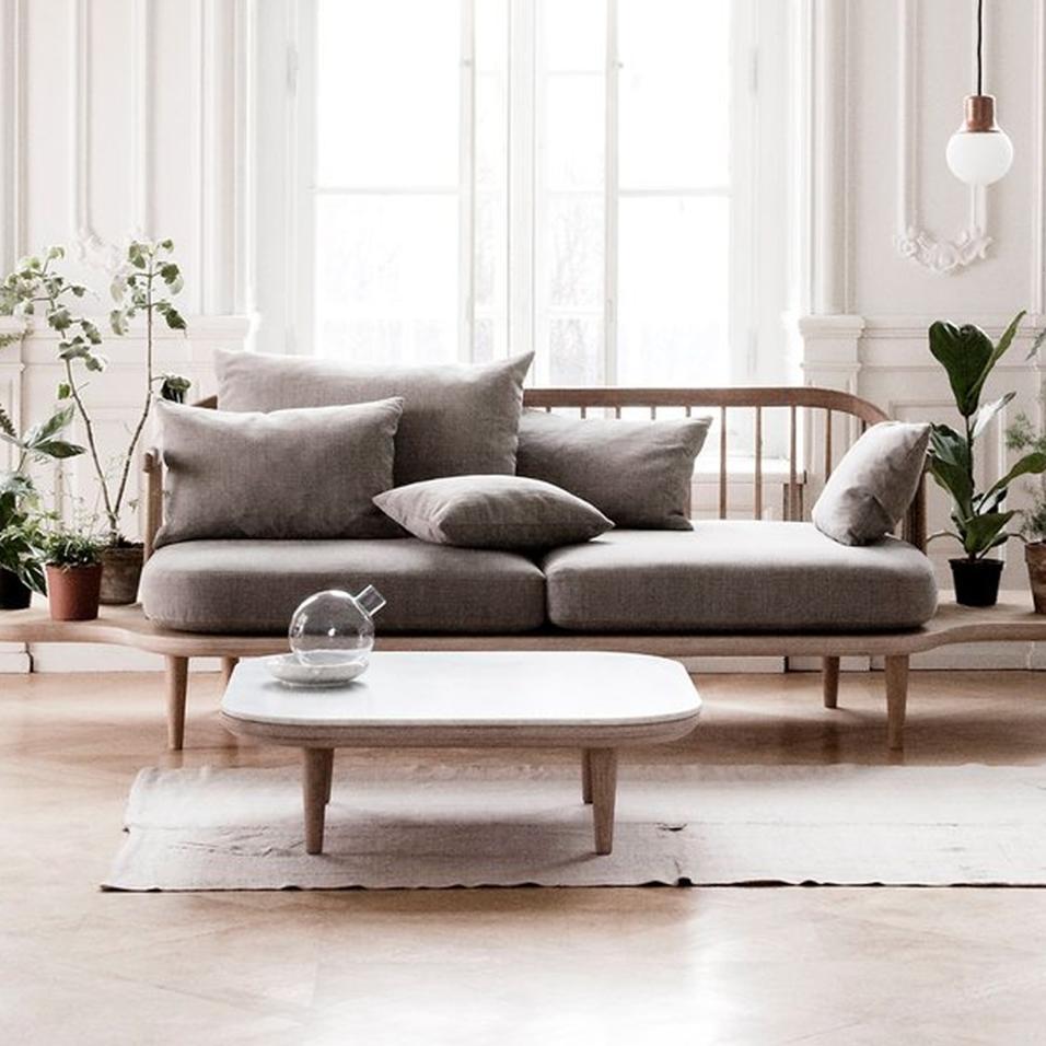 20 idee per arredare il soggiorno for Sofa nordisch