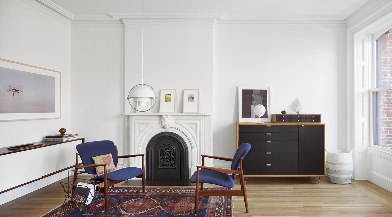 Interni classici a brooklyn living corriere for Appartamento new design roma lorenz
