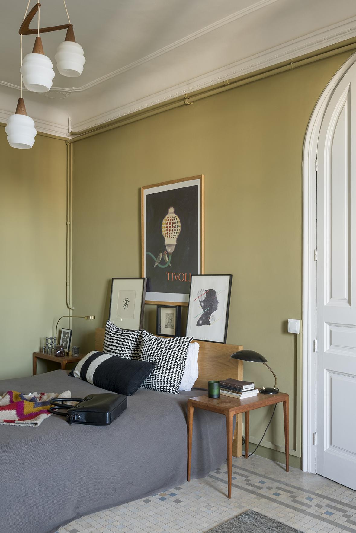 Casa studio a barcellona - Camera da letto vintage ...