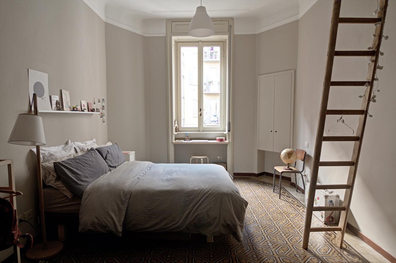 Casa in stile vecchia milano living corriere for Appartamento via decorati milano