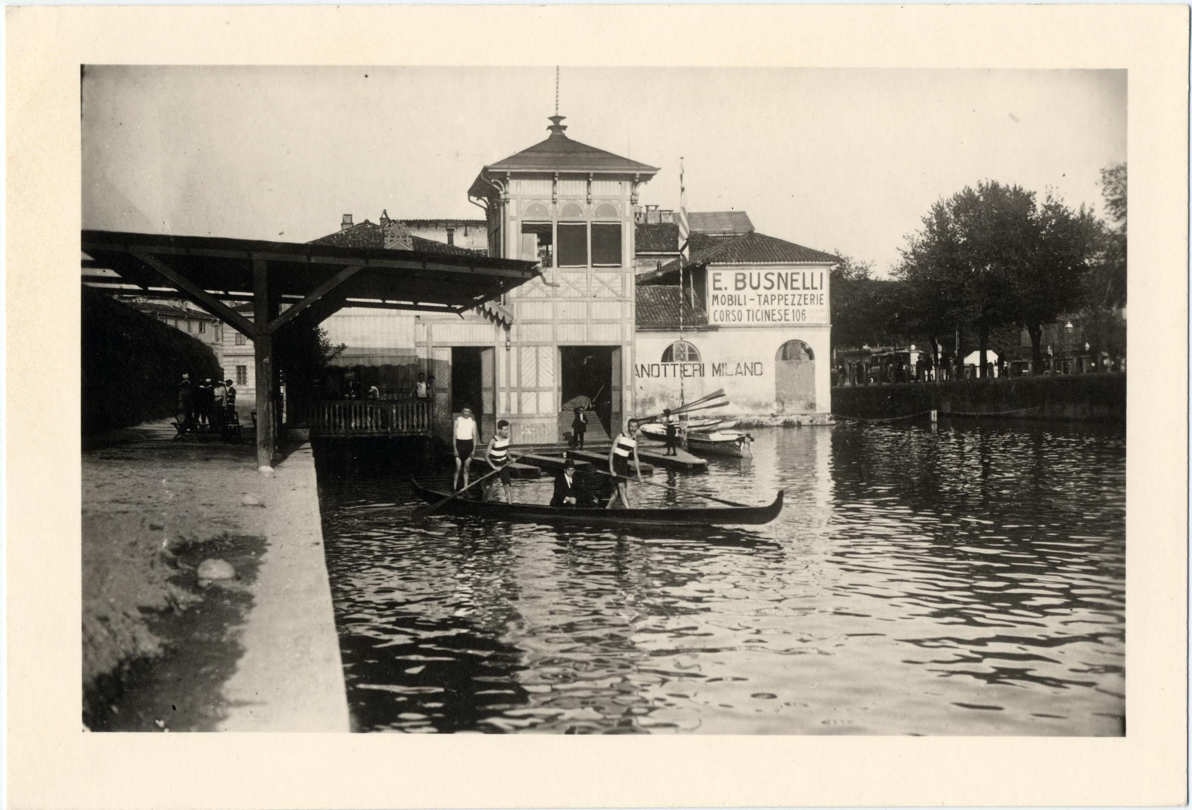 15 - Sede dellla Canottieri in Darsena © Archivio fotografico Arnaldo Chierichetti