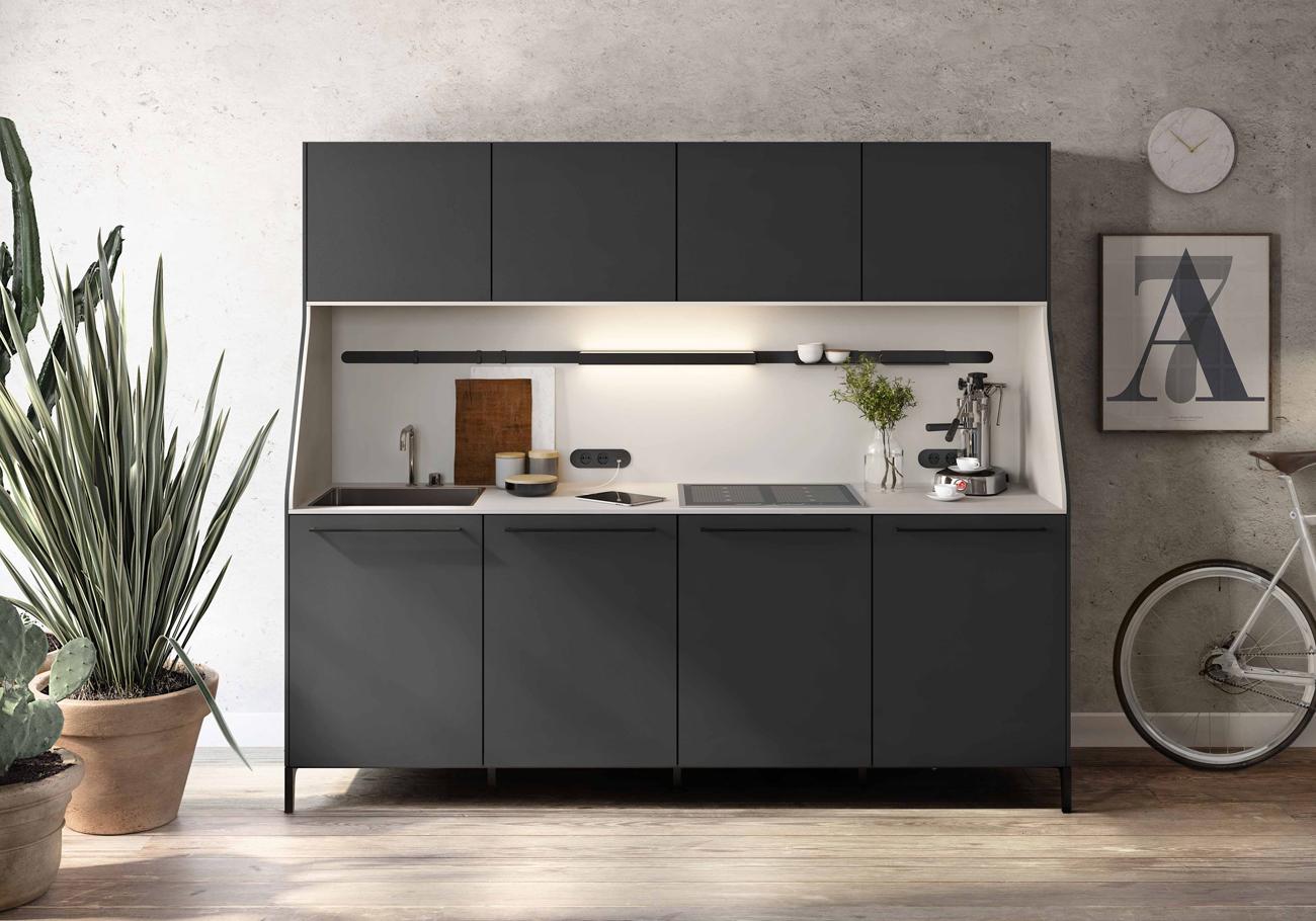 Cucine piccole ecco le migliori soluzioni living corriere for Mobili x cucine piccole