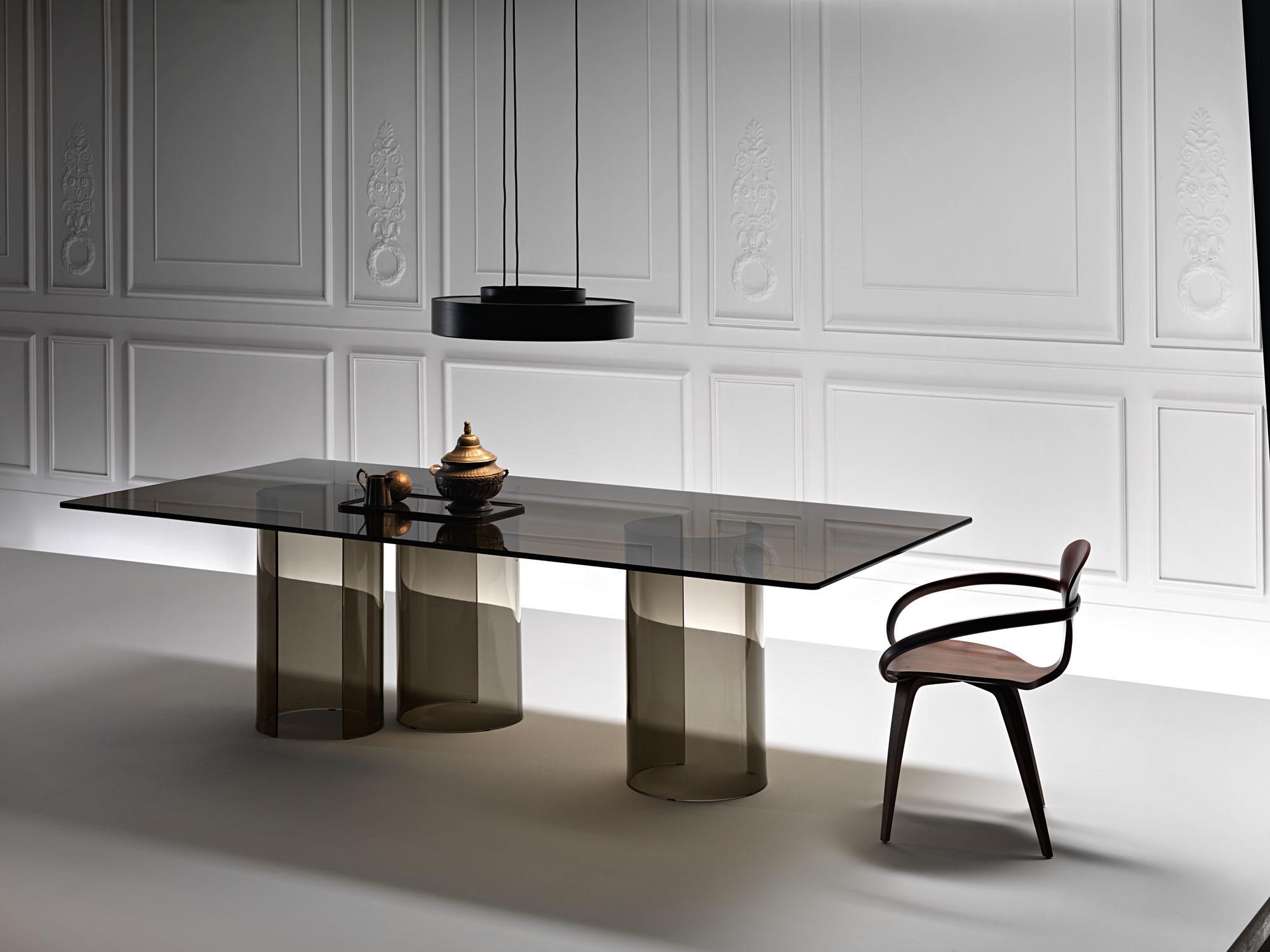 Tavoli Quadrati Di Design.Tavoli Di Vetro Di Design Livingcorriere