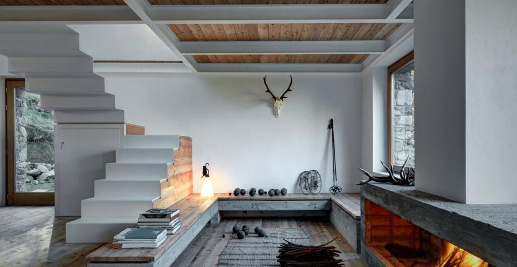 Arredare Uno Chalet Di Montagna : Arredamento dinterni: le ispirazioni dalle case di design famose