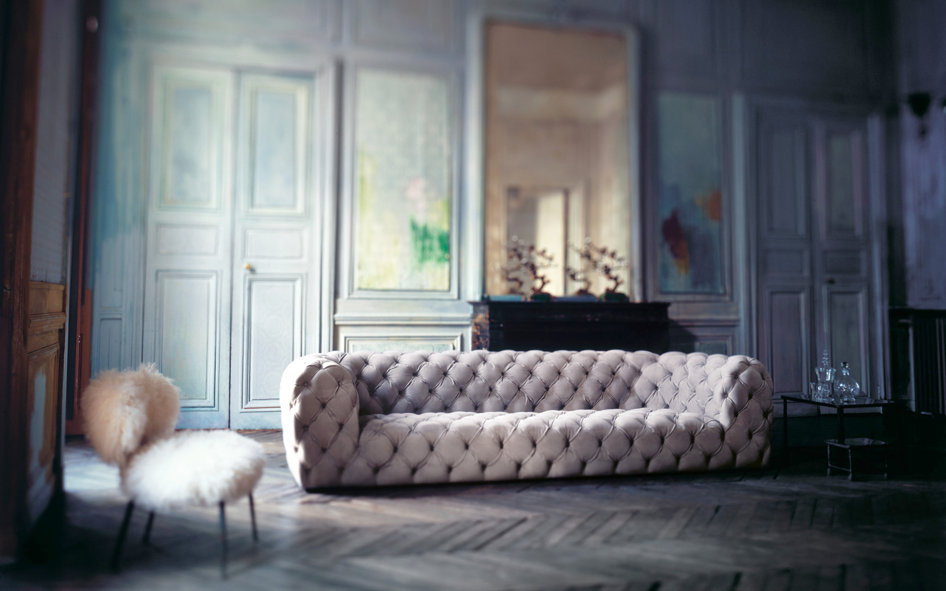 divani in pelle living corriere