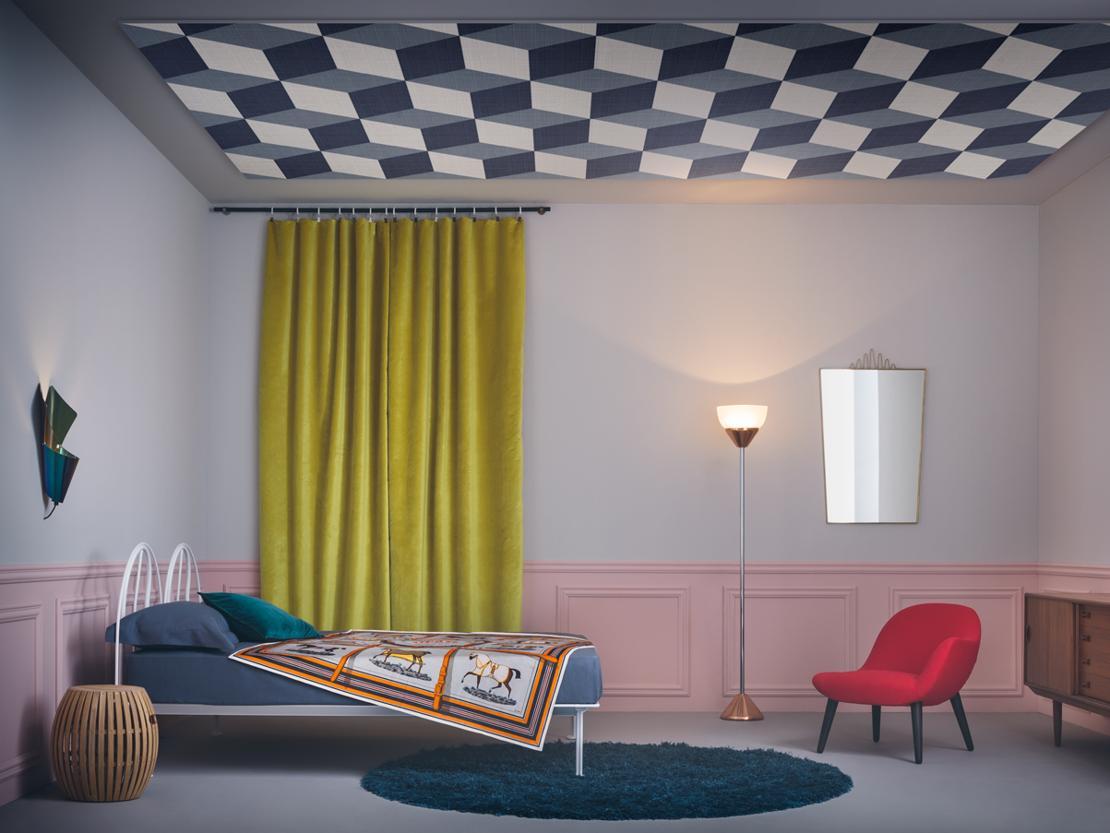 Soffitti A Volta Decorazioni : Restauri soffitto a volta decorato a tempera retrosistina