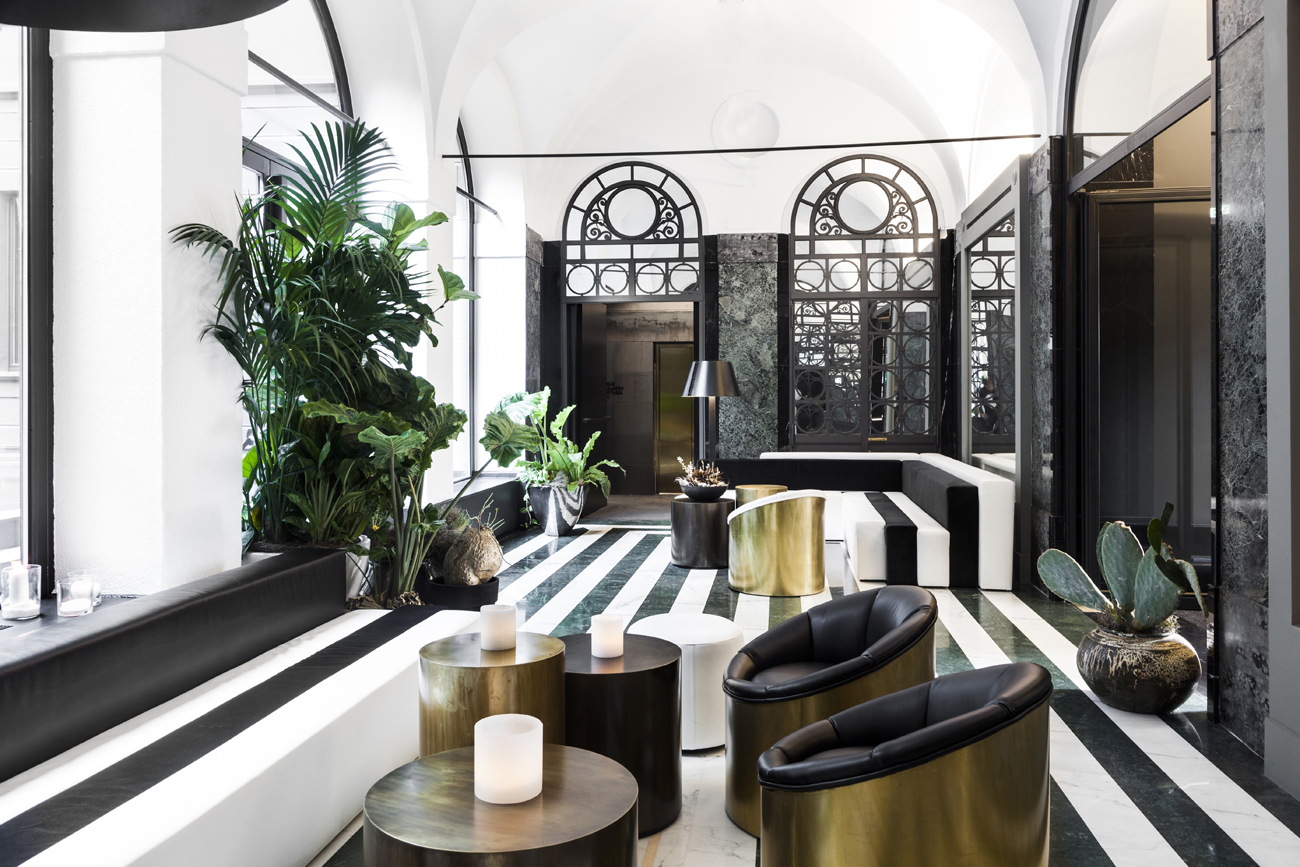Il senato hotel milano living corriere for Boutique hotel design guidelines