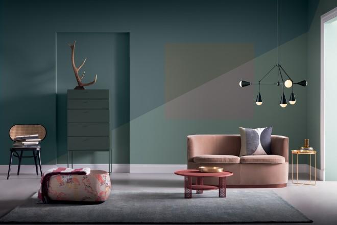 Decorare con il colore livingcorriere for Colori pareti case moderne