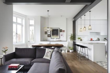 Idee Arredo Zona Giorno.Arredare Loft E Open Space Idee Di Architettura D Interni Living