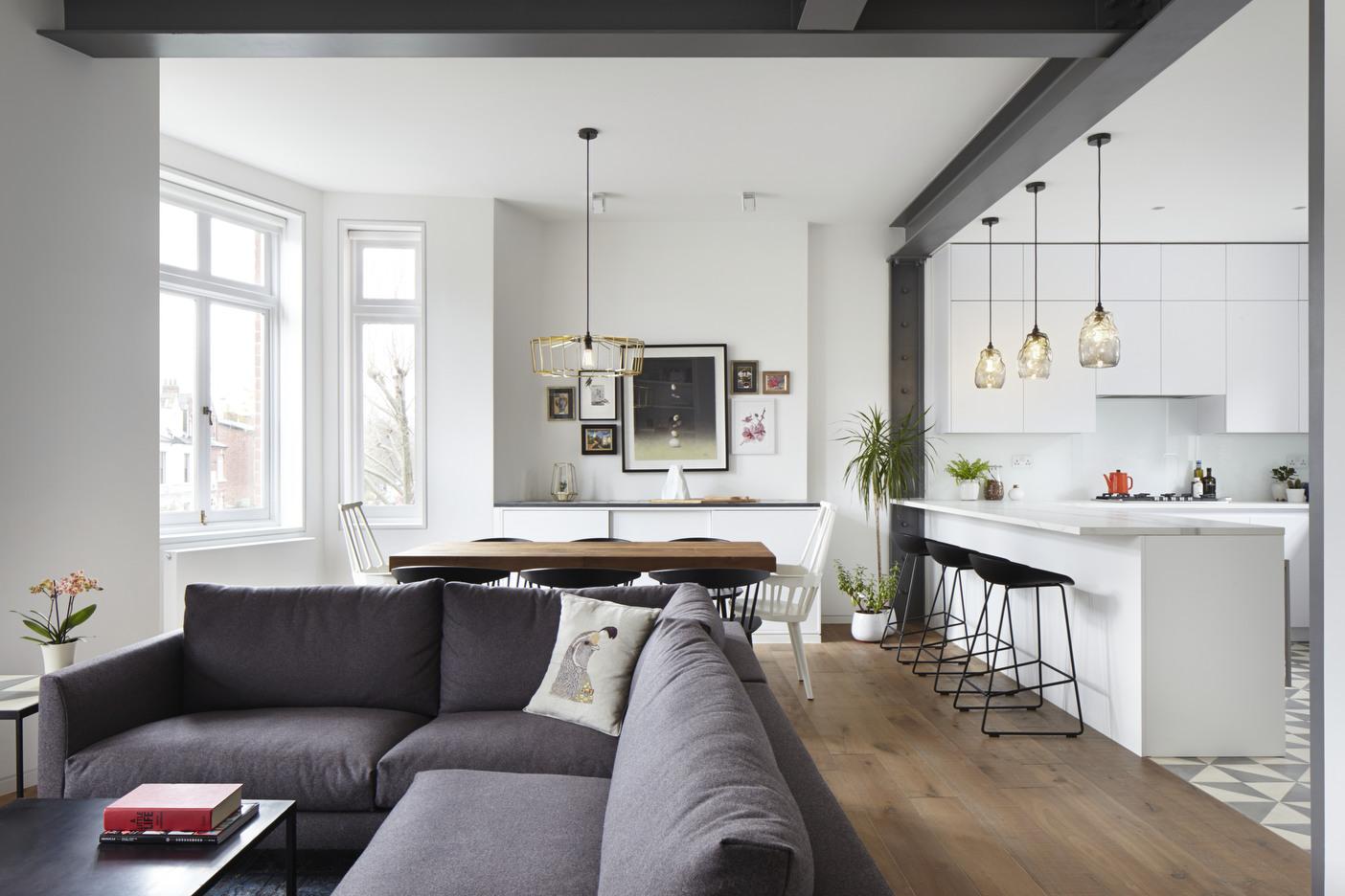 Rinnovare la zona giorno glenshaw mansions dello studio for Casa moderna zurigo