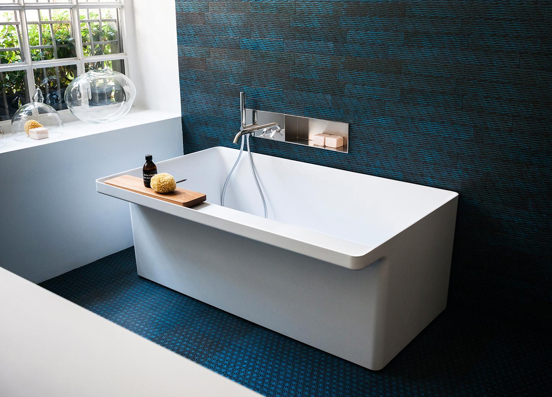 15 vasche da bagno piccole foto living corriere - Vasche da bagno piccole con seduta ...