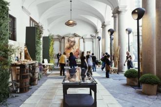 Un orto (fabbrica) a Palazzo Cusani