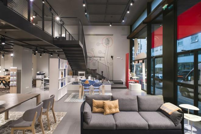 Calligaris Flagship Store Milano_ Interno 1