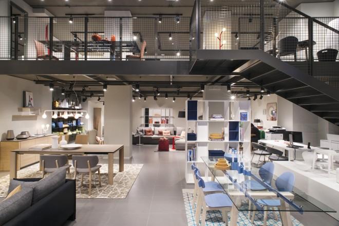 Calligaris Flagship Store Milano_ Interno_generale