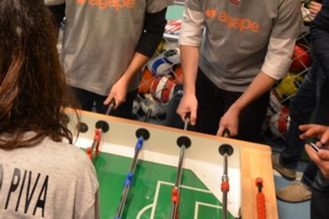 il torneo di calcio balilla del design