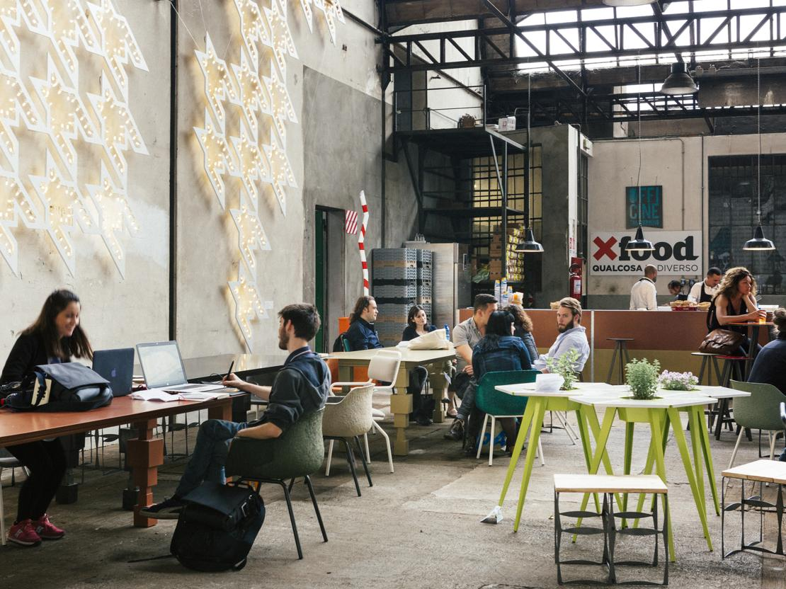Mangiare al fuorisalone for Negozi di arredamento del distretto di design dallas