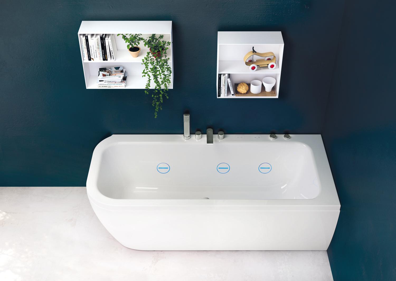 15 vasche da bagno piccole foto living corriere - Vasche da bagno teuco ...