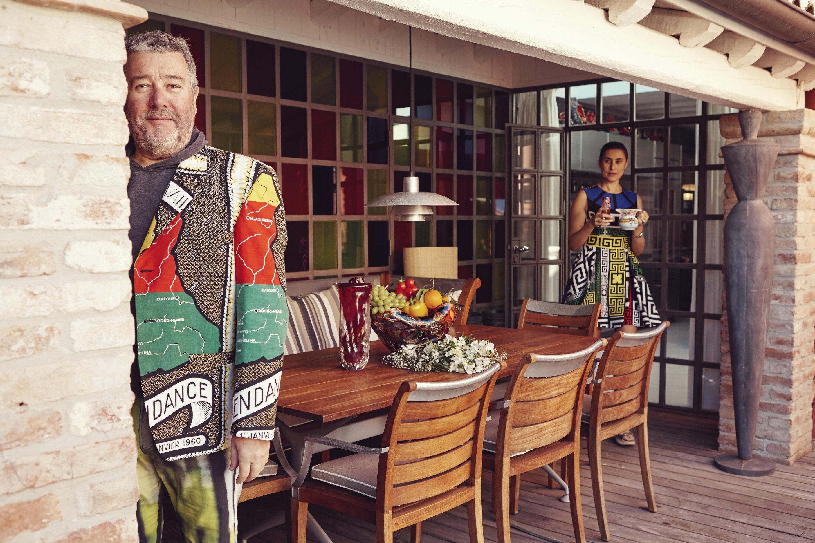 A Casa Di Philippe Starck Living Corriere