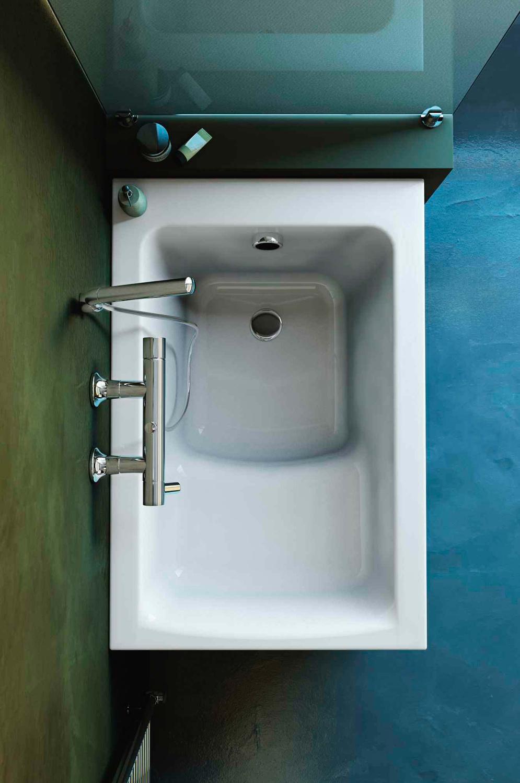 15 vasche da bagno piccole foto living corriere - Vasche da bagno con seduta ...