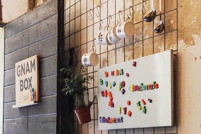 Gnam Box Cafè: il social eating nel distretto 5 vie