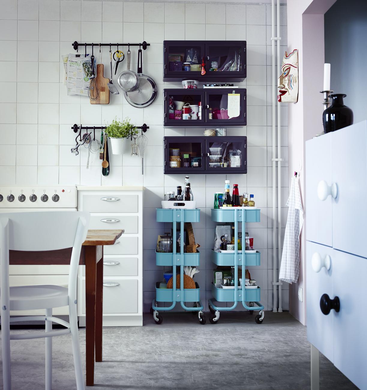 Binario Pensili Cucina Ikea restyling creativo in cucina - foto 1 livingcorriere