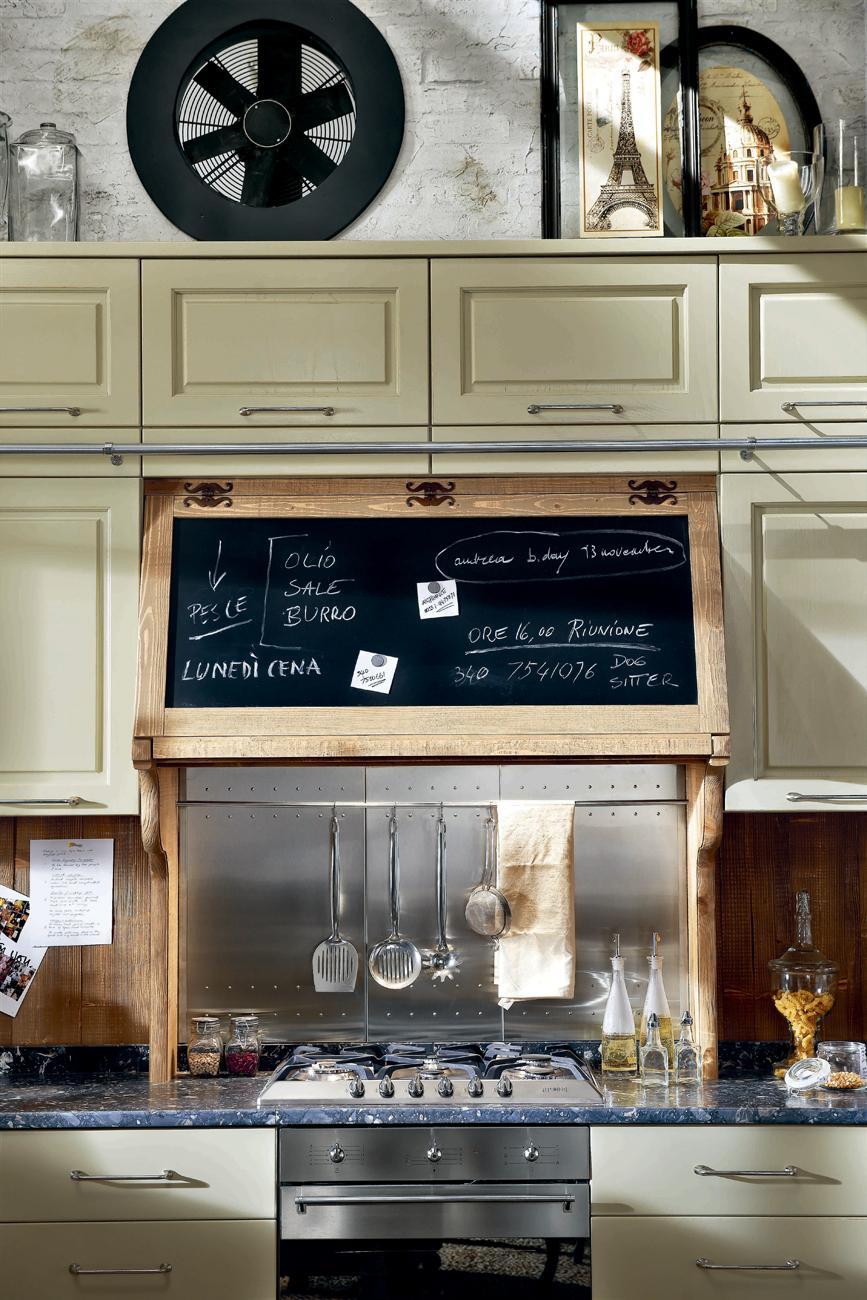 restyling creativo in cucina foto 1 livingcorriere. Black Bedroom Furniture Sets. Home Design Ideas