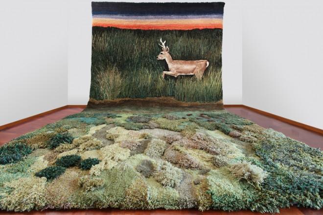tappeti-Kehayoglou_venado tapiz