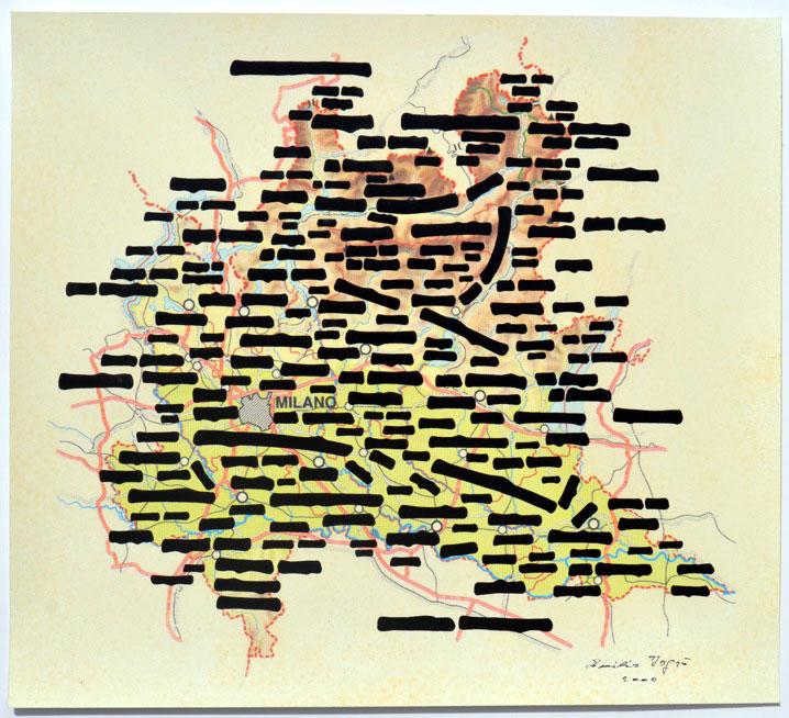 Allegrini-Arte-Contemporanea-Emilio-Isgroo-Carte-lombarde-2010-tecnica-mista-su-carta-cm