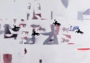 Engema-Arte,-Alighiero-Boetti,-Rane,-1986,-mista-su-cartoncino,-cm-70-x-100-