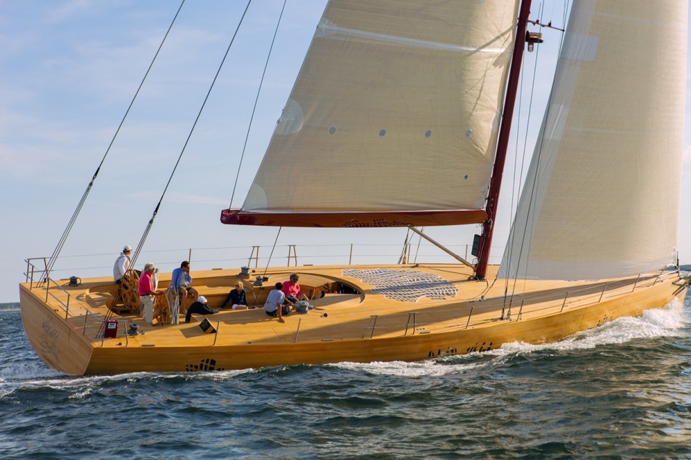Lo yacht di Frank Gehry