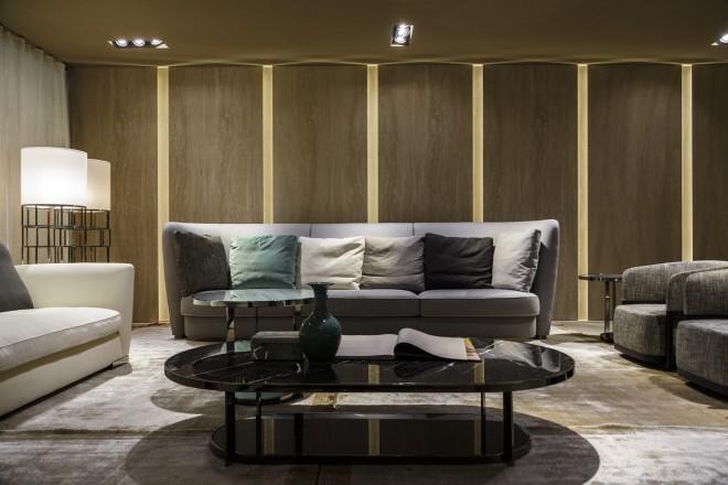 Flexform firmato anche libeskind livingcorriere for Antonio citterio architetto