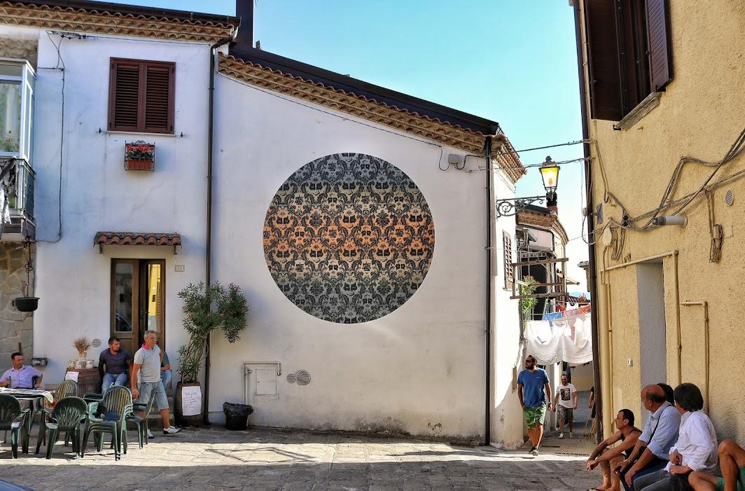 La street art nel borgo