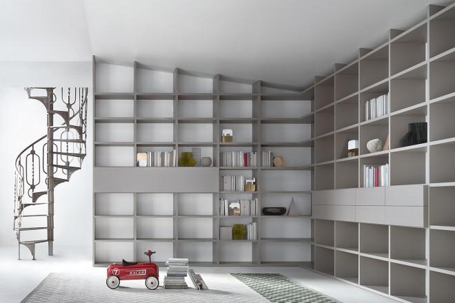 Librerie su misura - Living Corriere