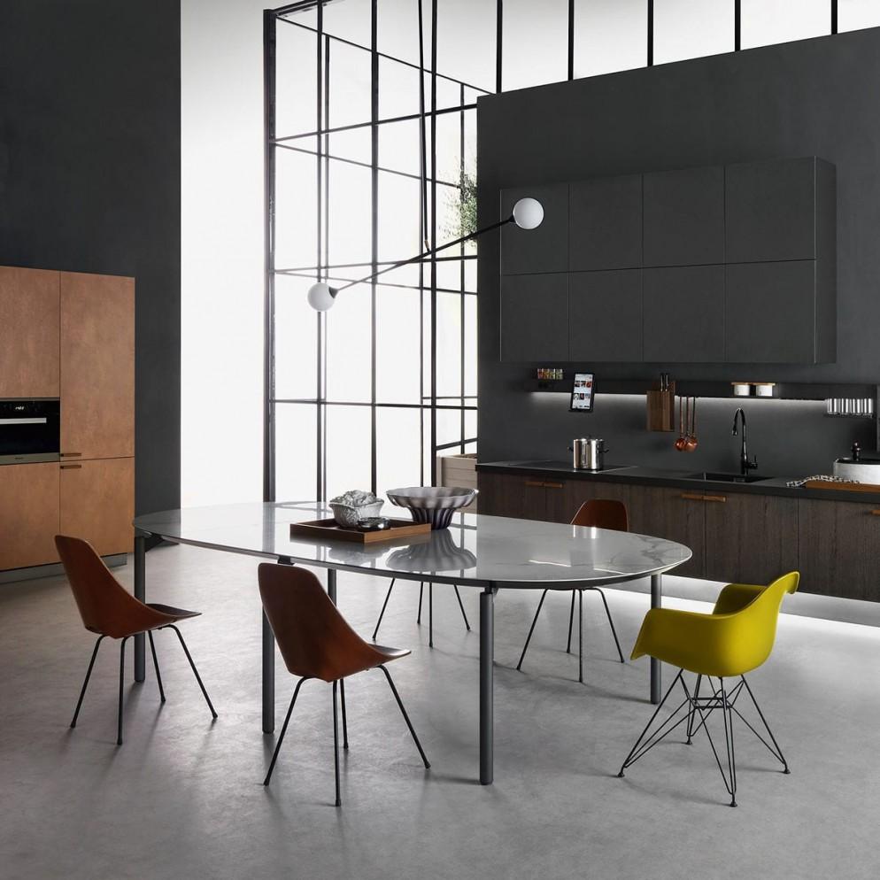 Tavoli cucina living corriere for Tavoli particolari per cucina