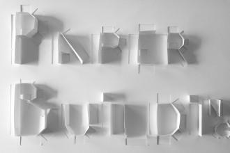 Daniel González, Paper Building, 2016, study for ephemeral archtecture