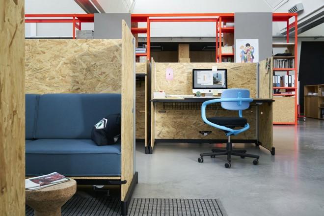 Ufficio In Tedesco : Grcic disegna hack mobili ufficio per vitra living corriere