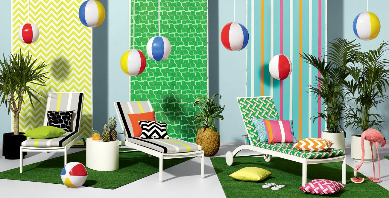 Salone In Terrazzo Sul Mare External Design : Tessuti per esterno come sceglierli living corriere