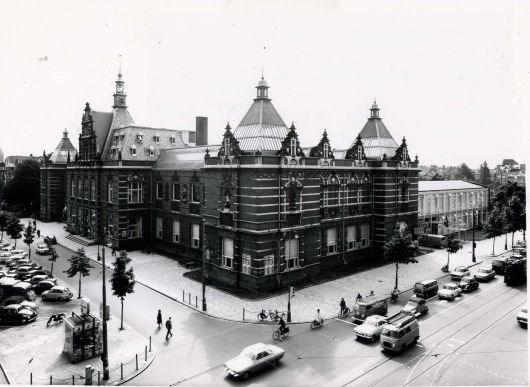 Stedelijk Museum, foto d'archivio Anni 60. Total Design