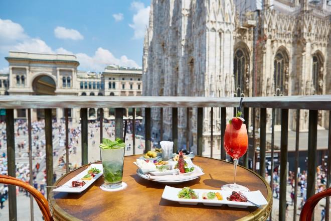 Aperitivo vista Duomo - LivingCorriere