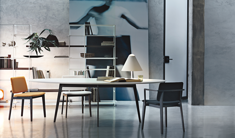 Tavoli Eleganti Sala Da Pranzo tavoli e sedie: idee per la sala da pranzo - living corriere