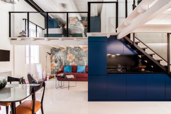 Open space di 50 mq a Cagliari - Living Corriere
