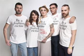 Il Team di Pinocchio: Francesco Ciocca, Valentina Ricci, La Pina, Diego Passoni e Fabio Piredda  Convivio 2016