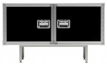 madia-di-design-Buffet Total Flightcase- Diesel with Moroso
